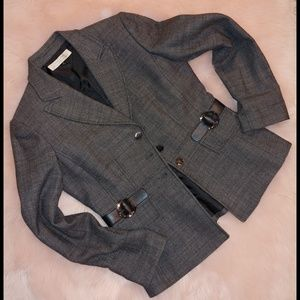 Tahari wool blazer career wear